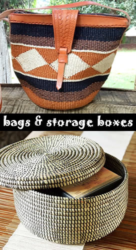 bags and storage boxes